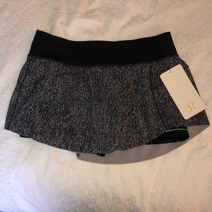 Lululemon NWT Final Lap Skirt